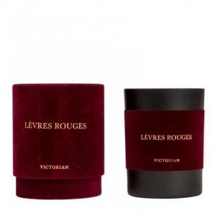 Victorian Candles Velvet Levres Rouges Tuoksukynttilä Red