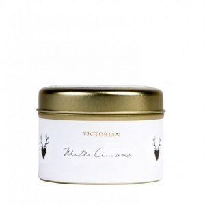 Victorian Candles Winter Tinbox Tuoksukynttilä Cinnamon