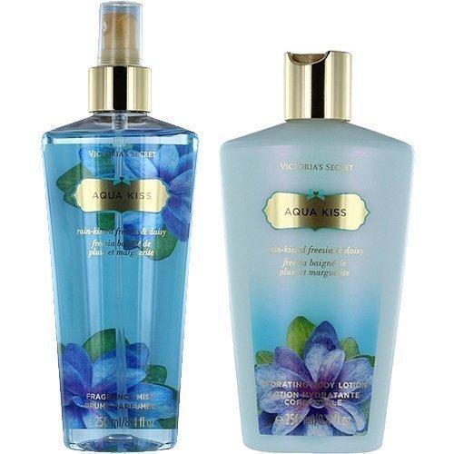 Victoria's Secret Aqua Kiss Duo Body Lotion 250ml Body Mist 250ml