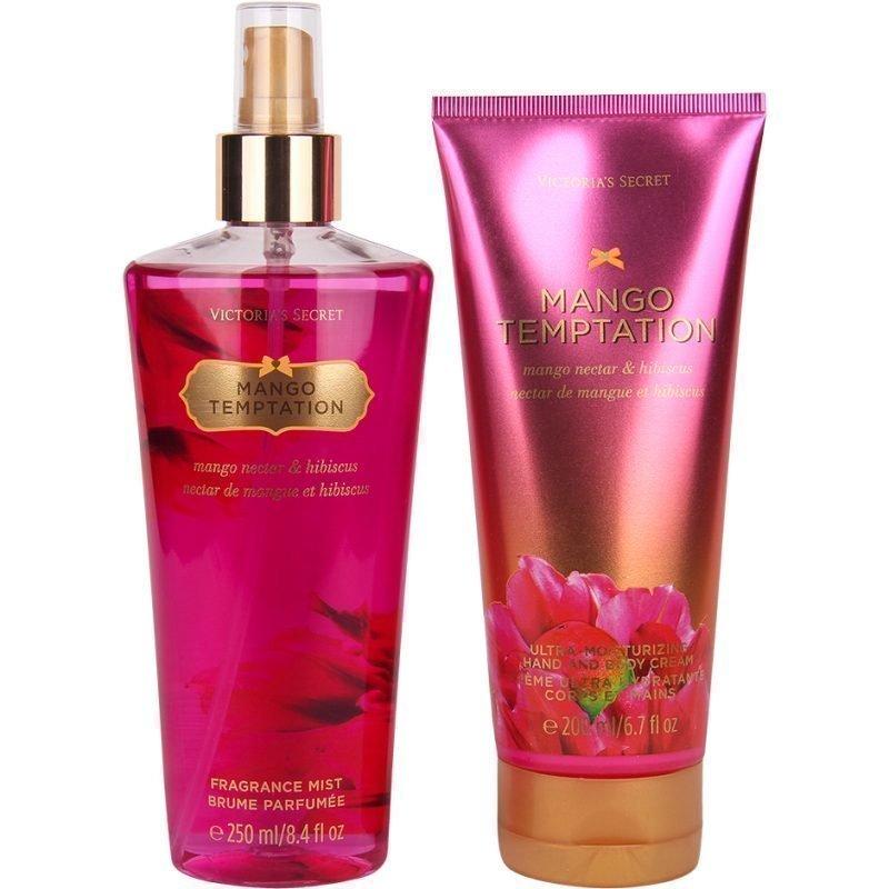Victoria's Secret Mango Temptation Duo Body Mist 250ml Hand & Body Cream 200ml