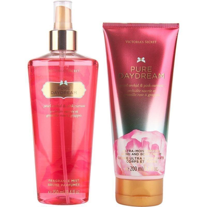 Victoria's Secret Pure Daydream Duo Body Mist 250ml Hand & Body Cream 200ml
