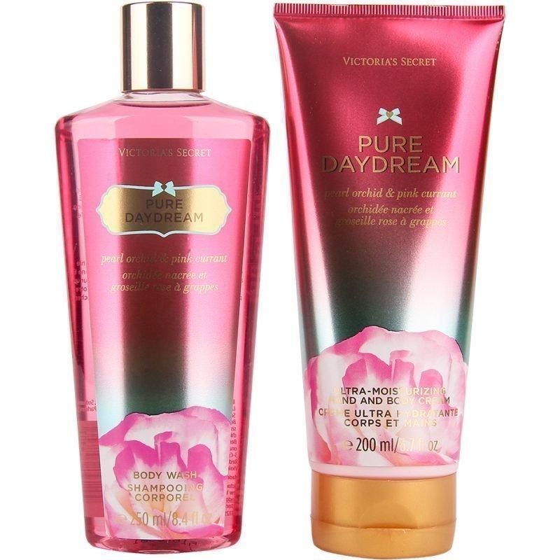 Victoria's Secret Pure Daydream Duo Body Wash 250ml Hand & Body Cream 200ml