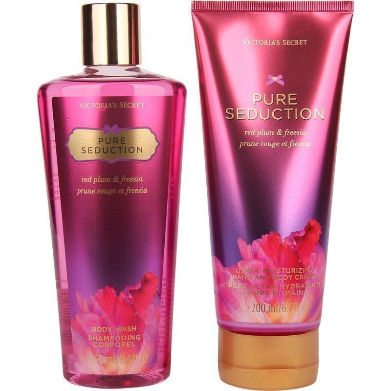 Victoria's Secret Pure Seduction Duo Body Wash 250ml Hand & Body Cream 200ml