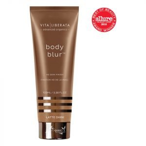 Vita Liberata Body Blur Instant Hd Skin Finish Latte Dark 100 Ml