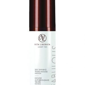 Vita Liberata Fabulous Self Tan Mousse Medium Itseruskettava Vaahto 100 ml