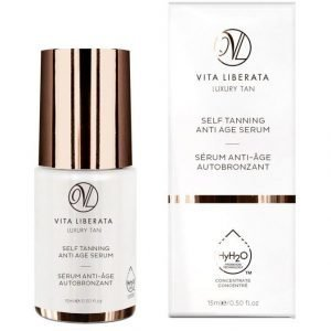 Vita Liberata Self Tanning Anti Age Serum Itseruskettava Seerumi 15 ml