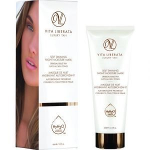 Vita Liberata Self Tanning Night Moisture Mask Itseruskettava Naamio Yöksi 65 ml
