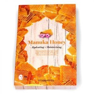 Vitamasques Manuka Honey Hydrating Moisturising Mask Box Of 4