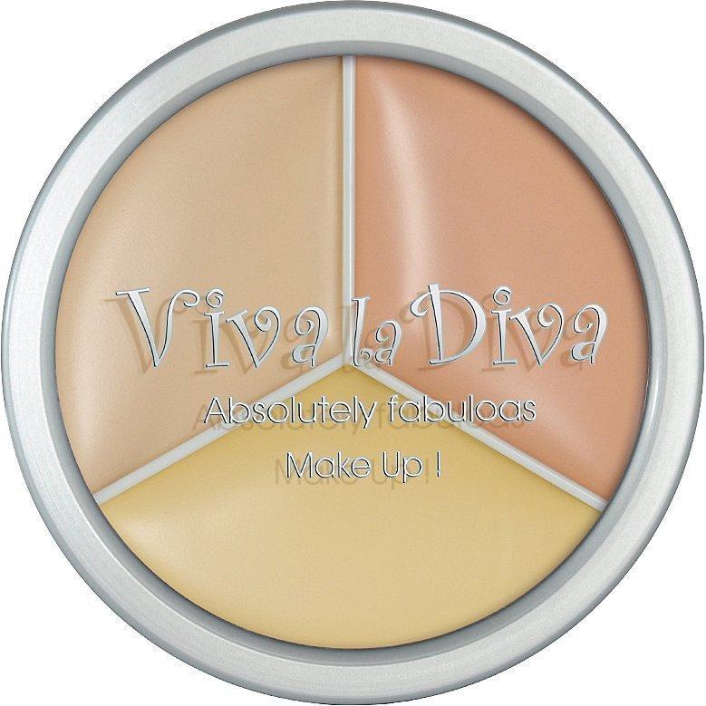 Viva la Diva 3 In 1 Concealer 3 x 5g