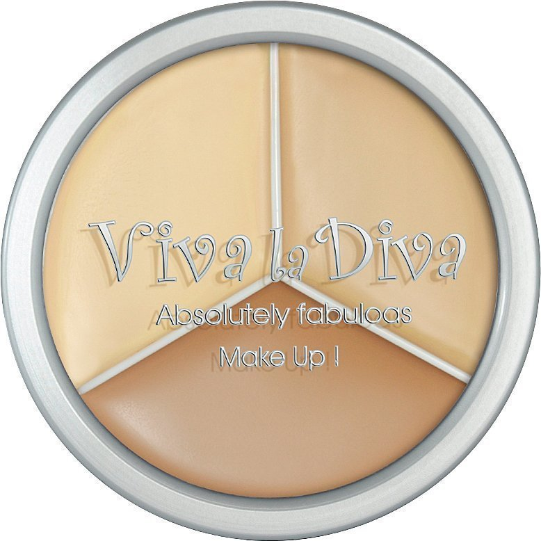 Viva la Diva 3 In 1 Foundation 3 x 5g