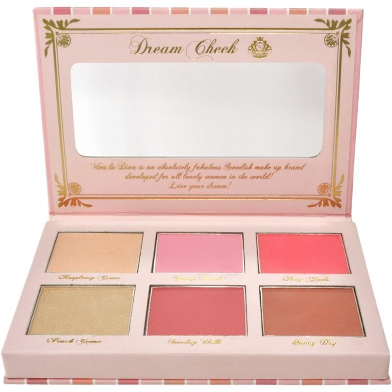 Viva la Diva Blush kit Dream Cheek 6 Pcs Blush & Highlighters