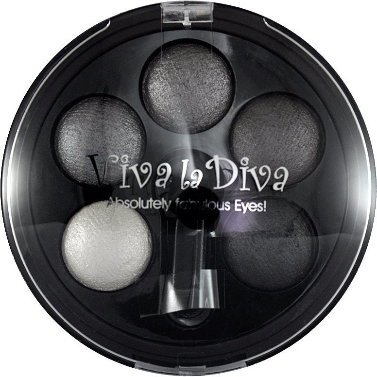 Viva la Diva Eyeshadow Quintet 1 Smoky Eyes 5g