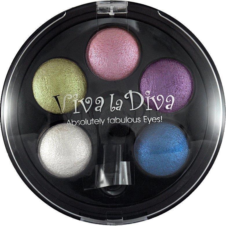 Viva la Diva Eyeshadow Quintet 3 Confetti Various Colour 5g