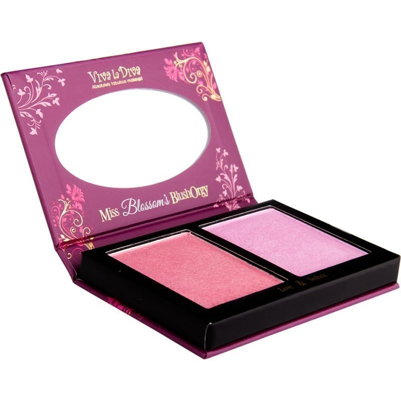 Viva la Diva Miss Blossom's Blush 2 Shades Of Blush