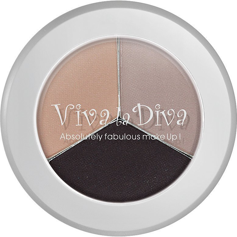 Viva la Diva Mix & Match Eyebrow Colour Dark 4