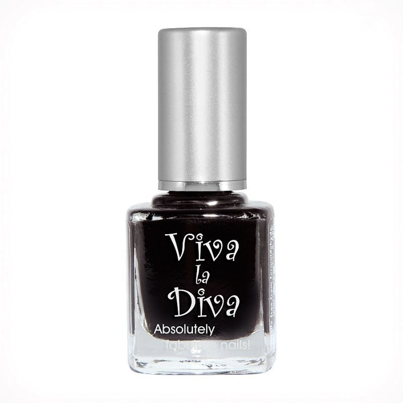 Viva la Diva Nailpolish 53 Just Black 9ml