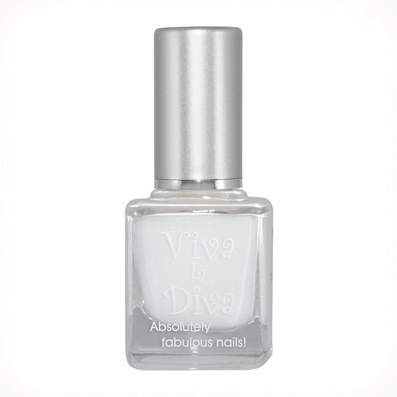 Viva la Diva NailpolishWhite 9ml