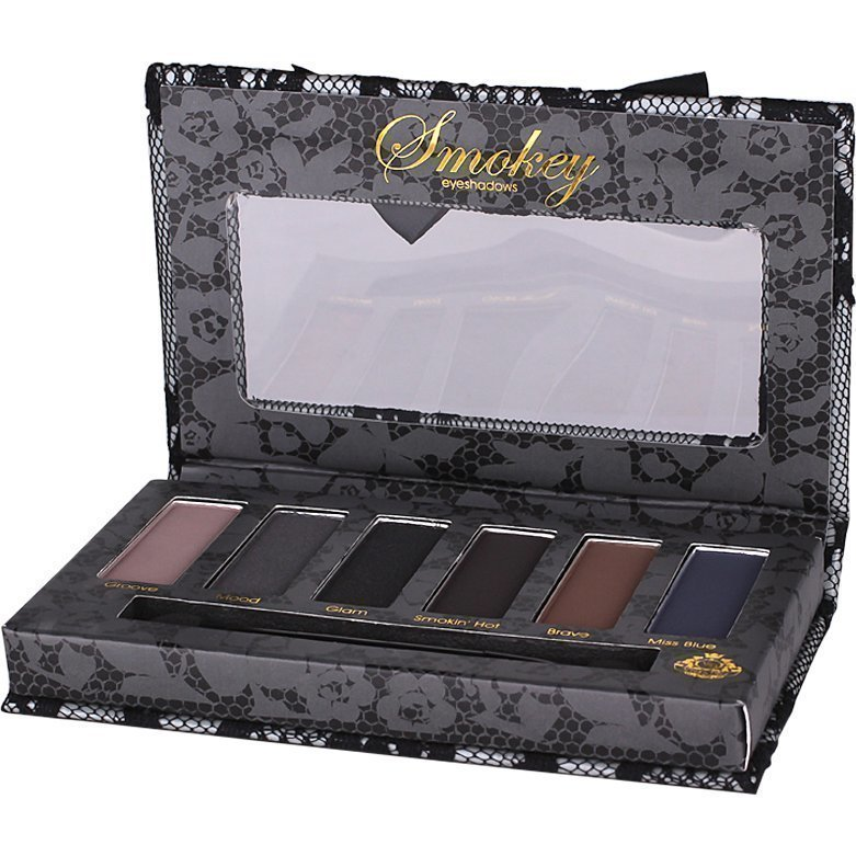 Viva la Diva Smokey Kit 6 Matte & Pearly Eyeshadows