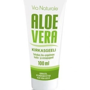 Vn Via Naturale Aloe Vera Kirkasgeeli 100 ml