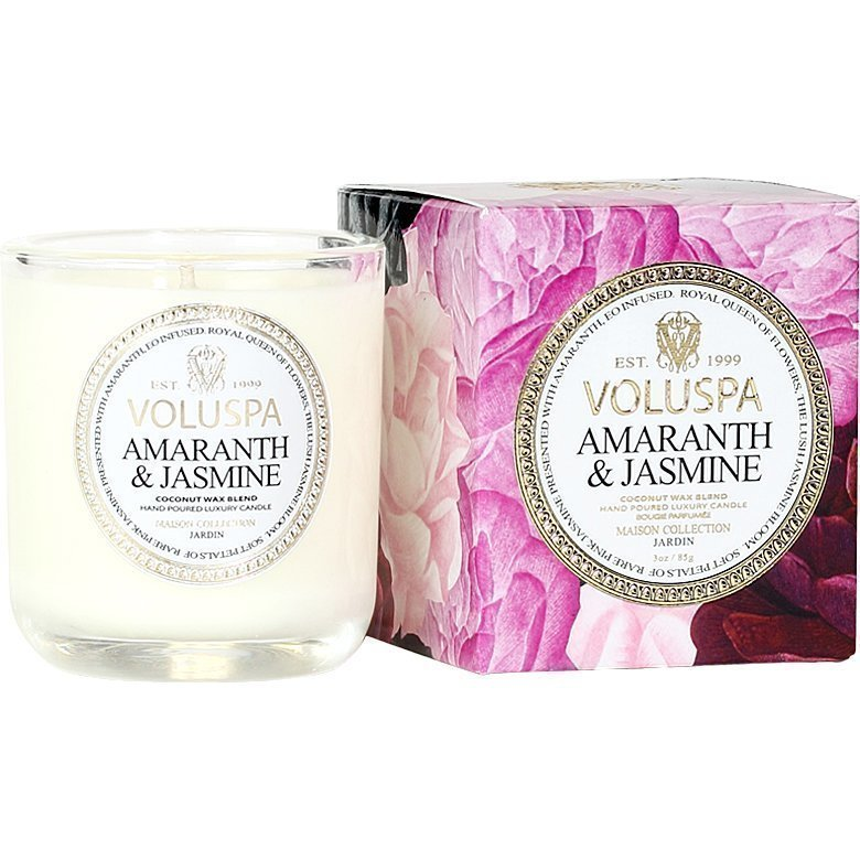 Voluspa Amaranth & Jasmine Classic Maison Boxed Votive Candle 85g