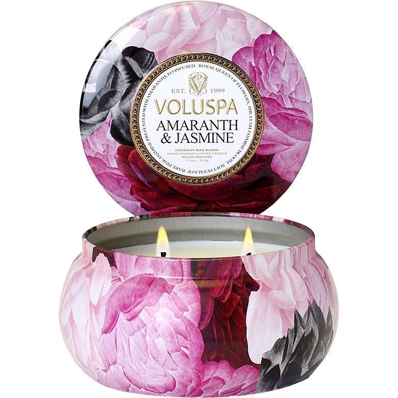 Voluspa Amaranth & JasmineWick Maison Metallo Candle 312g
