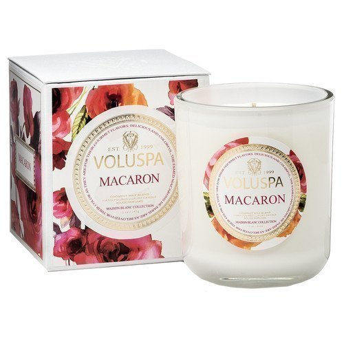 Voluspa Apricot & Coconut Wax Blend Perfumed Candle Macaron 340 g