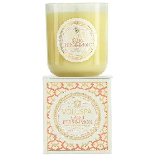 Voluspa Apricot & Coconut Wax Blend Perfumed Candle Saijo Persimmon 85 g
