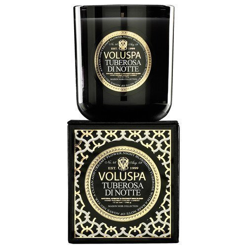 Voluspa Apricot & Coconut Wax Blend Perfumed Candle Tuberosa di Notte