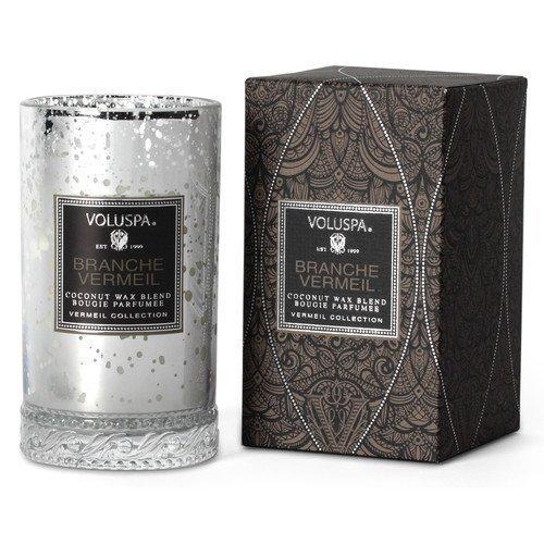 Voluspa Coconut Wax Blend Perfumed Candle Branche Vermeil