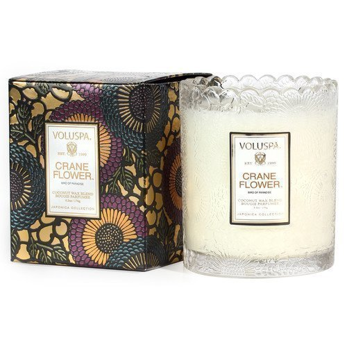 Voluspa Coconut Wax Blend Perfumed Candle Crane Flower