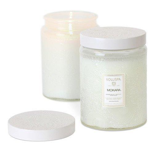 Voluspa Coconut Wax Blend Perfumed Candle Mokara