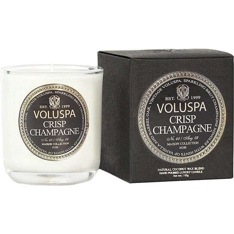 Voluspa Crisp Champagne Classic Maison Boxed Votive Candle 85g