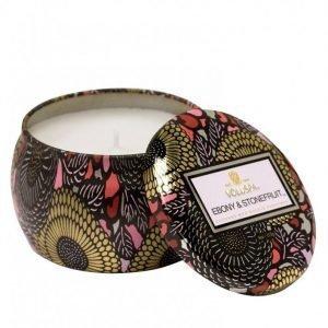 Voluspa Ebony & Stonefruit Japonica Collection Tuoksukynttilä Valkoinen