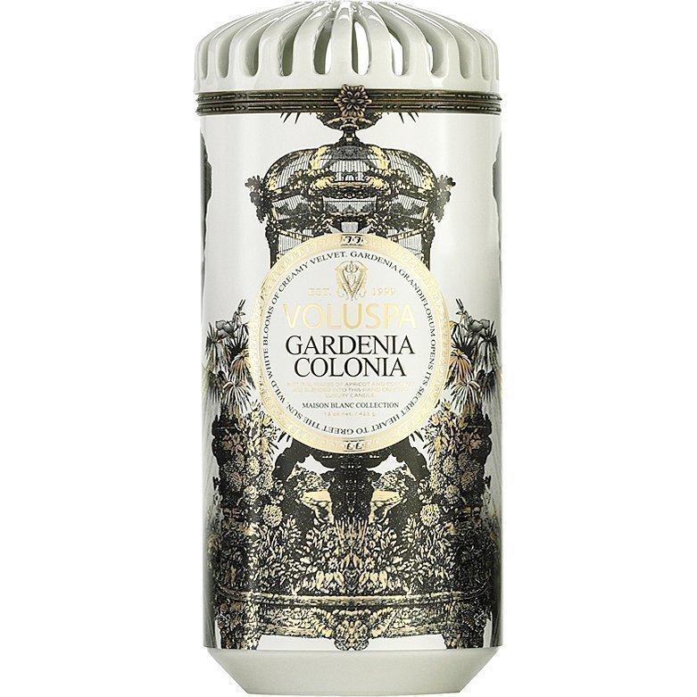 Voluspa Gardenia Colonia Ceramic Alta Maison Candle 425g