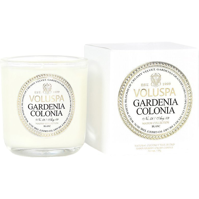 Voluspa Gardenia Colonia Classic Maison Boxed Votive Candle 85g
