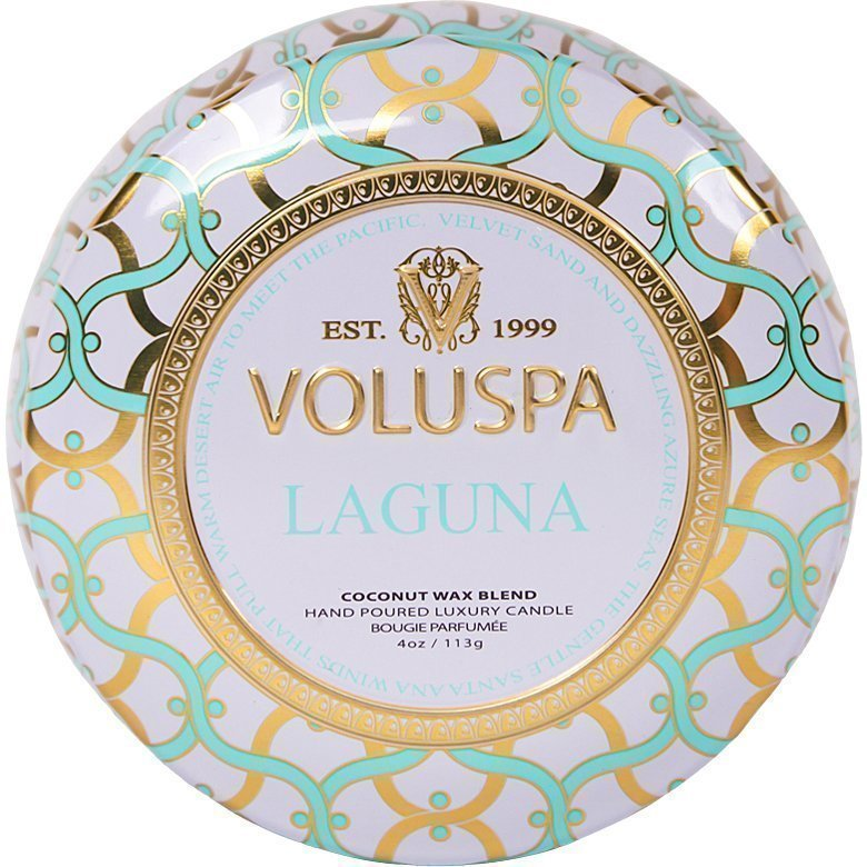 Voluspa Laguna Decorative Tin Candle 99g