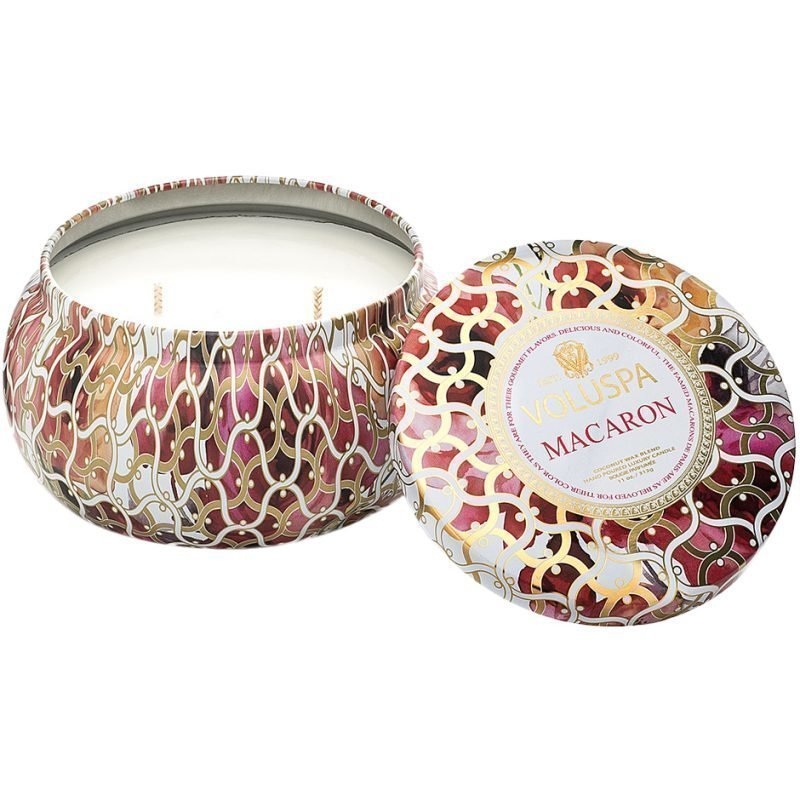 Voluspa MacaronWick Maison Metallo Candle 312g