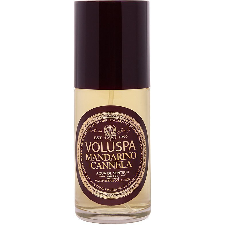 Voluspa Mandarino Cannela Home And Body Mist 108ml