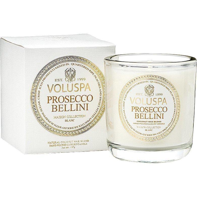 Voluspa Prosecco Bellini Classic Maison Boxed Votive Candle 85g