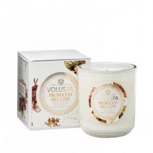 Voluspa Prosecco Bellini Classic Maison Candle Tuoksukynttilä Valkoinen