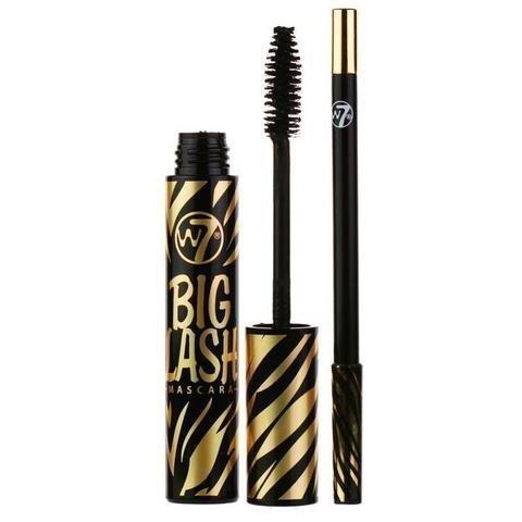 W7 Big Lash Black Mascara And Eyeliner Pencil Duo