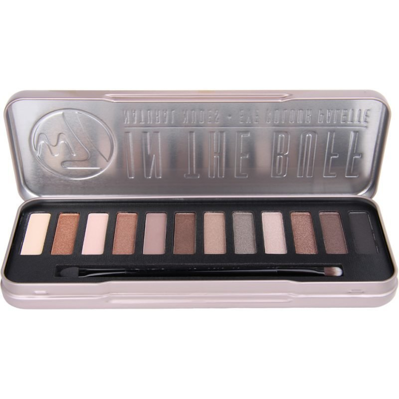 W7 In The Buff Eye Colour Palette Natural Nudes 15