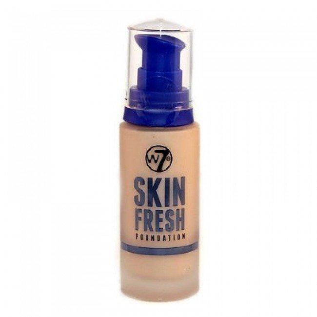 W7 Skin Fresh Foundation 30ml Meikkivoide