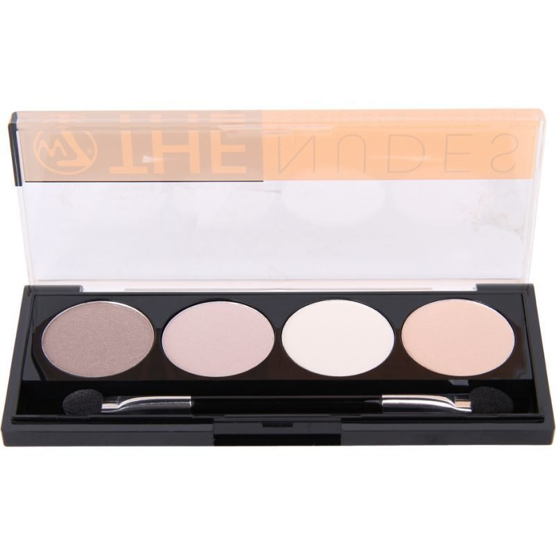 W7 The Nudes Eyeshadow Palette 4 Eyeshadows