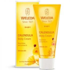 Weleda Baby Calendula Moisturising Body Cream 75 Ml
