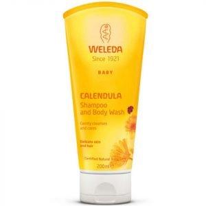 Weleda Baby Calendula Shampoo And Body Wash 200 Ml