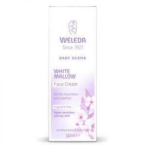 Weleda Baby Derma White Mallow Face Cream 50 Ml