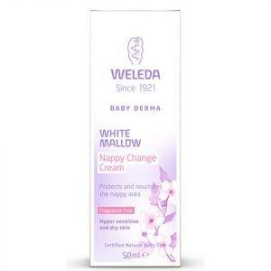 Weleda Baby Derma White Mallow Nappy Cream 50 Ml