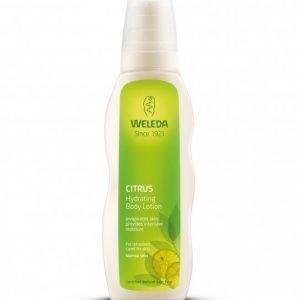 Weleda Citrus Hydrating Body Lotion 200 ml Kosteuttava sitruksinen vartaloemulsio