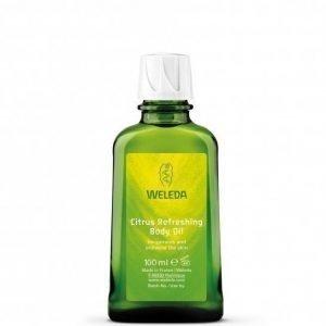 Weleda Citrus Refreshing Body Oil 100 ml Virkistävä sitruksinen vartaloöljy